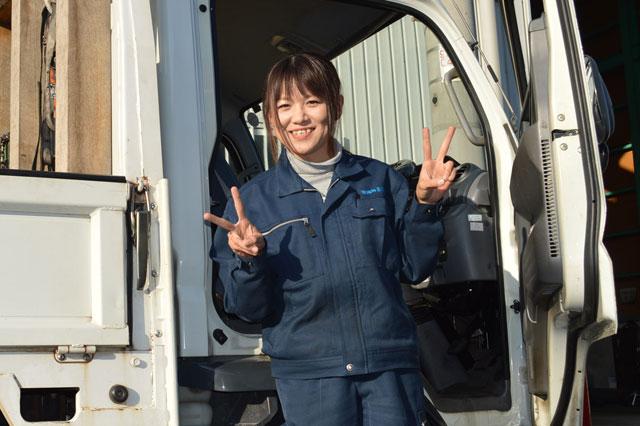 画像 弊社ドライブスタッフ 田原 真紀さん