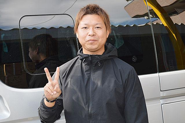 弊社ドライブスタッフ 深田 充紀さん