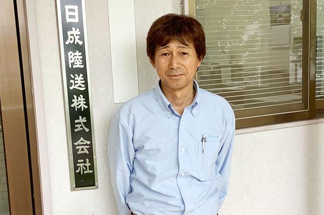 弊社ドライブスタッフ 森岡 静男さん